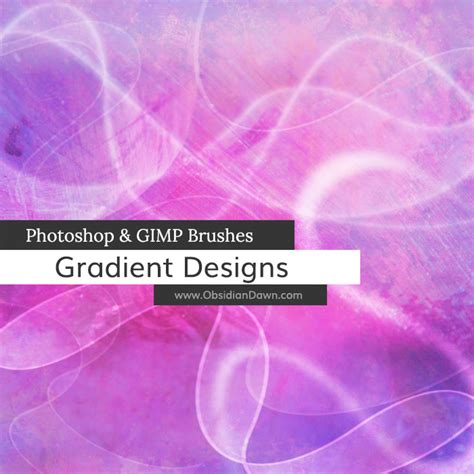 designing photoshop brushes gradient designs photoshop gimp brushes obsidian dawn