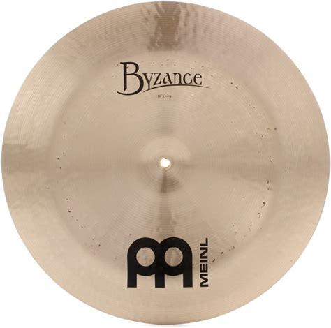 Meinl Cymbal Byzance Traditional China 20 meinl cymbals byzance traditional china 18 quot sweetwater