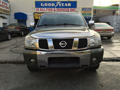 used nissan titan trucks for sale used 2004 nissan titan se truck 6 990 00