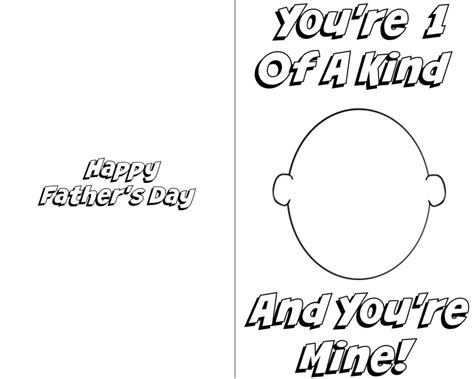 fathers day card template fathers day card printables template update234 template update234