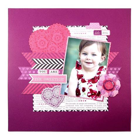 Valentines Scrapbooking Idea by 448 Best Images About Scrapbook Layouts Valentines