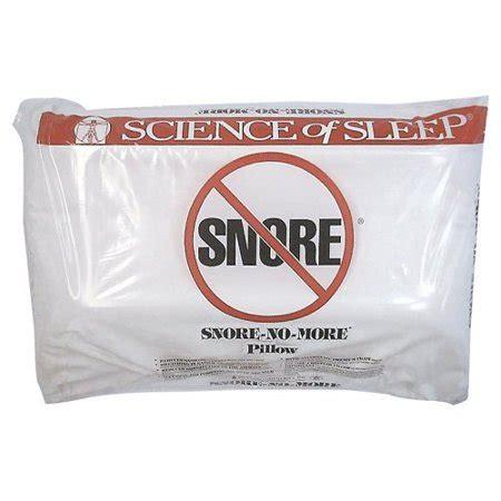 no snore pillow snore no more 174 memory foam pillow walmart