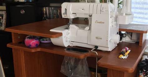 koala sewing cabinet craigslist baby lock koala teak serger table google search