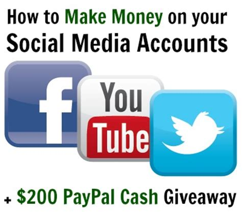 Social Media Giveaway Tools - how to make money on your social media accounts young adult money