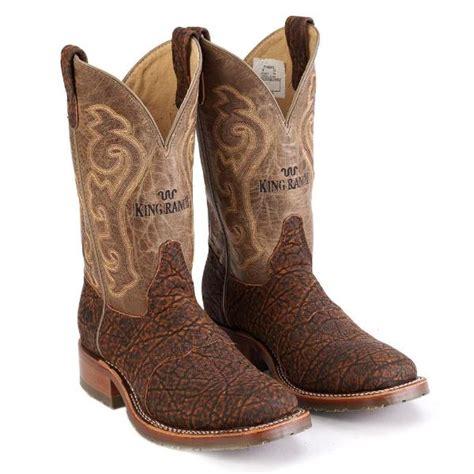 elephant work boot king ranch saddle shop