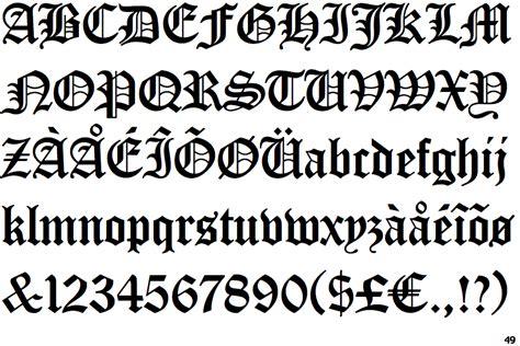 tattoo huruf hindi identifont ef old english