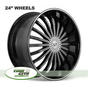 Best Tires For 24 Inch Rims 24 Inch U2 29 Black Wheels Best Deals On Wheels And