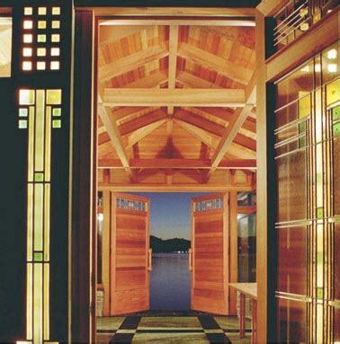 bainbridge island teak boathouse teak paneling
