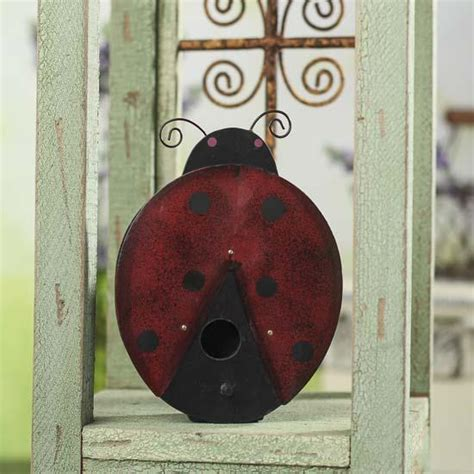 ladybug home decor ladybug birdhouse wall decor home decor