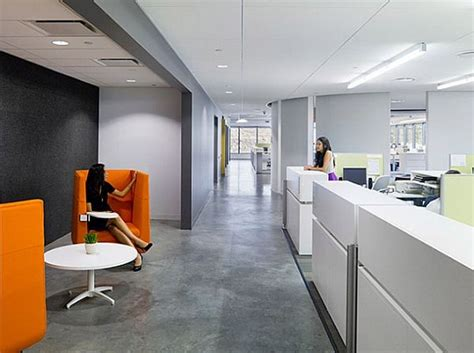 Contemporary Office Space Ideas Belkin S Modern Office Interior Design