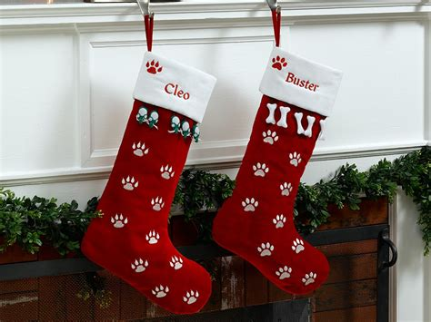 personalized christmas stockings for dogs