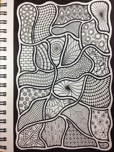 zentangle pattern drawing as meditation 104 best images about zentangle on pinterest coloring