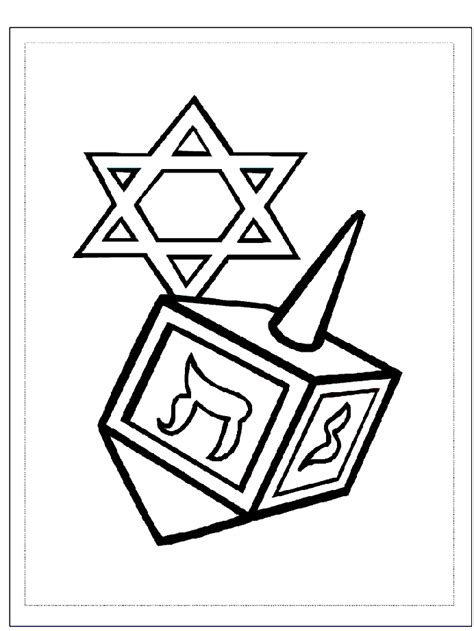 coloring page hanukkah hanukkah coloring pages for kids coloring home