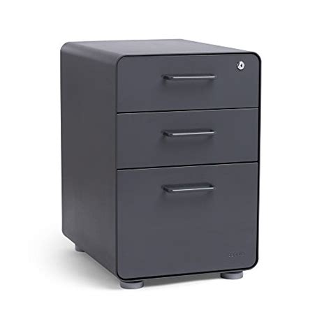 poppin black stow 3 drawer file cabinet poppin charcoal stow 3 drawer file cabinet vertical file