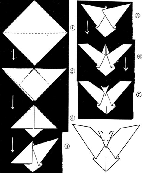 How To Make A Paper Bat - bat crafts for bats