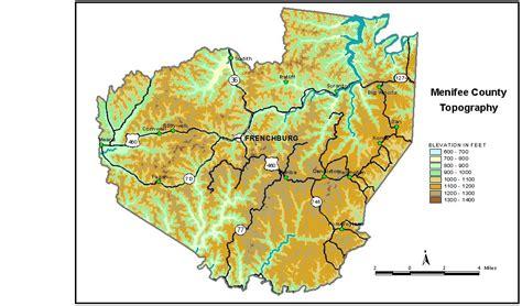 kentucky groundwater map groundwater resources of menifee county kentucky
