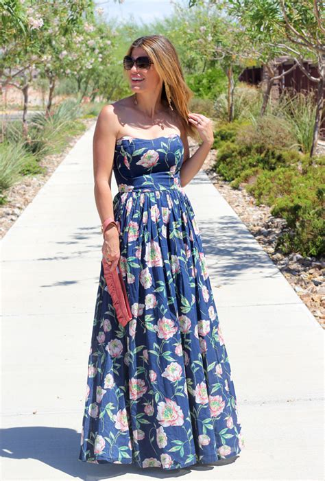 Maxi Marion Navy marionberry style tag archive floral print