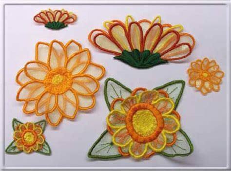 3d Flower Embroidery Designs 3d flower embroidering