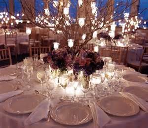 tree branches centerpieces branches centerpieces with hanging lanterns