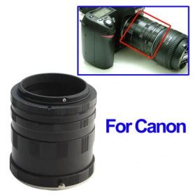 Lensa Canon Black Market Extension Ring Lensa Nikon Black Jakartanotebook