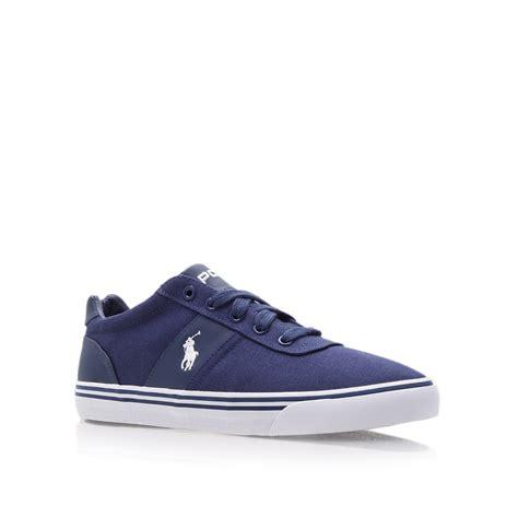 polo sneaker polo ralph hanford vulc sneaker in blue for