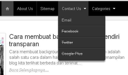 cara membuat link menu di html cara membuat menu bar di blogspot dengan mudah langkah