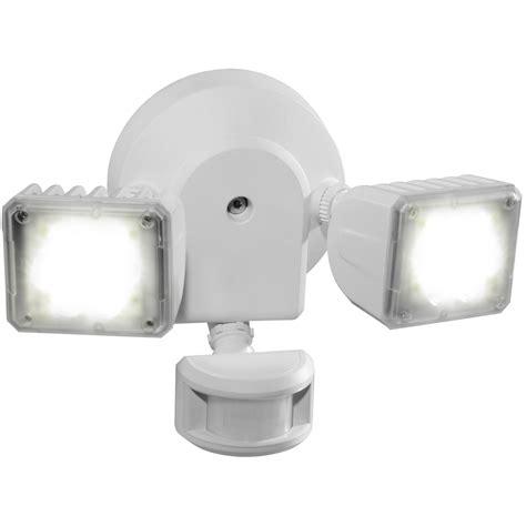 shop utilitech 180 degree 2 led motion activated