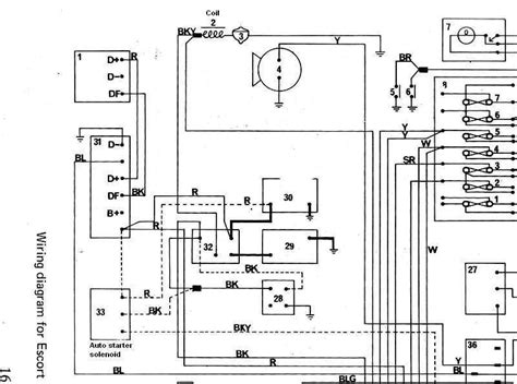 ford focus mk1 wiring diagram wiring diagram and