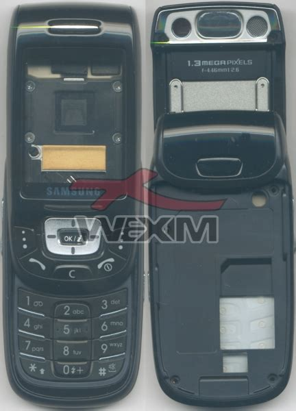 Casing Samsung Type D500 Fullset Jadul fa 231 ade d origine samsung d500 blue 25 90 wexim