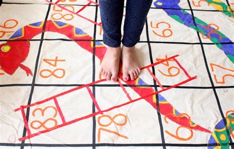 Creative Diy Home Decor by Giant Outdoor Snakes And Ladders Game The Craftables