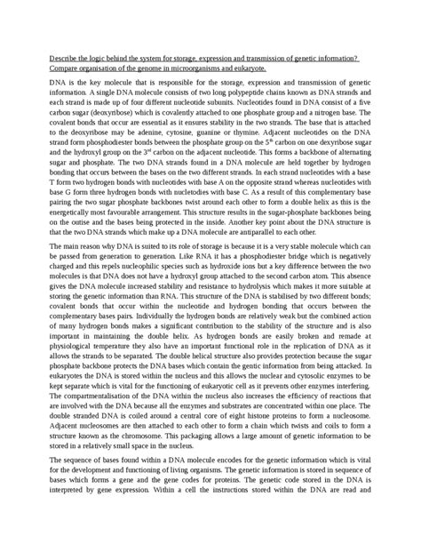 Genetic Essay by Patterns Of Inheritance 1 Oxbridge Notes The United Kingdom
