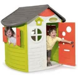 smoby enfant jura lodge achat vente maisonnette
