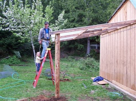 How To Add A Lean To On A Shed by Home Ideas 187 Building Plans For Lean To Barn