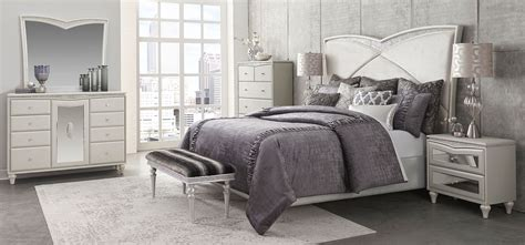 michael amini bedroom set for sale 4 piece michael amini melrose plaza upholstered bedroom set usa warehouse furniture