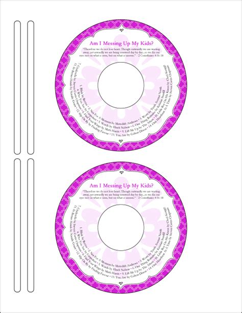 avery template 5931 photoshop time management gone like rainbows cd labels template word