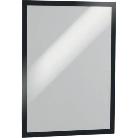 cornici adesive magaframe durable a4 nero 4872 01 conf 2 ufficio