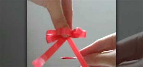 how to make a floral bow or tying ribbon 171 papercraft wonderhowto