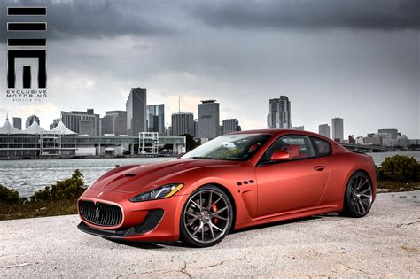 custom maserati maserati granturismo mc stradale kicks back on custom