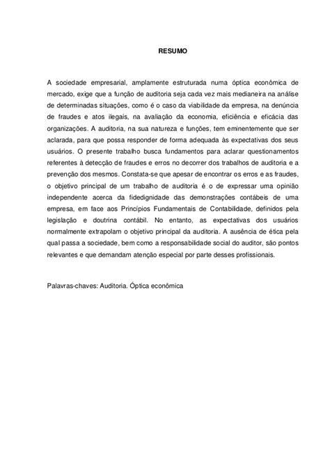 A IMPORTÂNCIA DA AUDITORIA INTERNA NA PREVENÇÃO E COMBATE