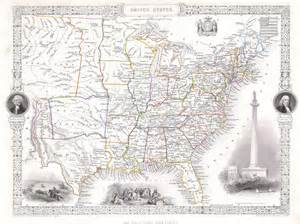1850 united states map file 1850 tallis rapkin map of the united states