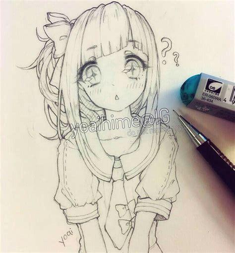doodle draw anime best 20 anime drawings ideas on kawaii