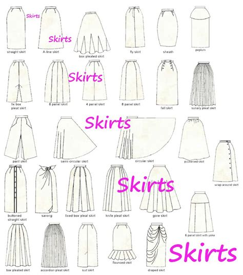 pattern types clothing 120 best sew skirts patterns inspiration images on