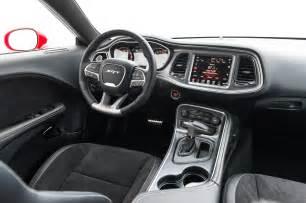 2015 Dodge Challenger Interior 2015 Dodge Challenger Srt Hellcat Front Interior Photo 7