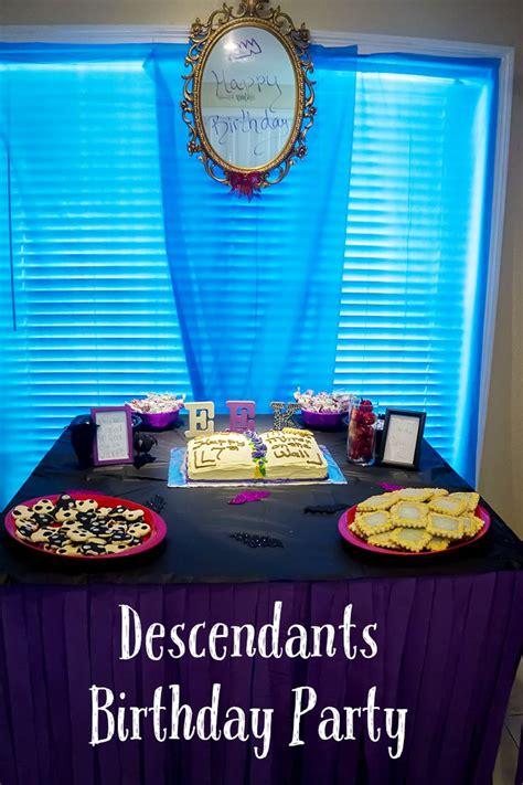disney descendants party descendents birthday by 17 best images about descendants birthday party on