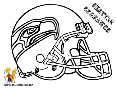 Coloring Pages Football Seahawks | seahawks football coloring pages only coloring pages