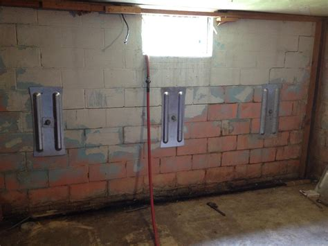repairing basement walls basement block wall repair 28 images wall repair services bowed basement wall repair