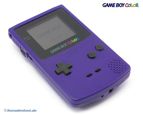 ebay gameboy color nintendo gameboy color console purple purple grape ebay