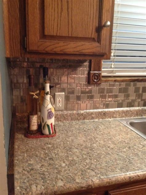 backsplash stick on tiles home staging with peel and stick smart tiles smart tiles