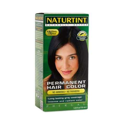 black 1n permanent hair color by naturtint thrive