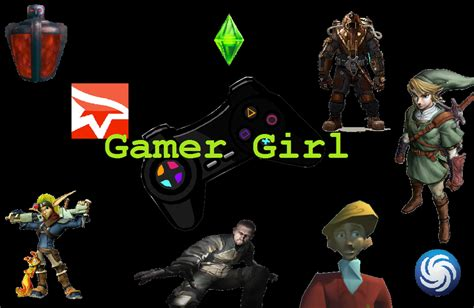 wallpaper gamer girl cute gamer girl wallpaper wallpapersafari